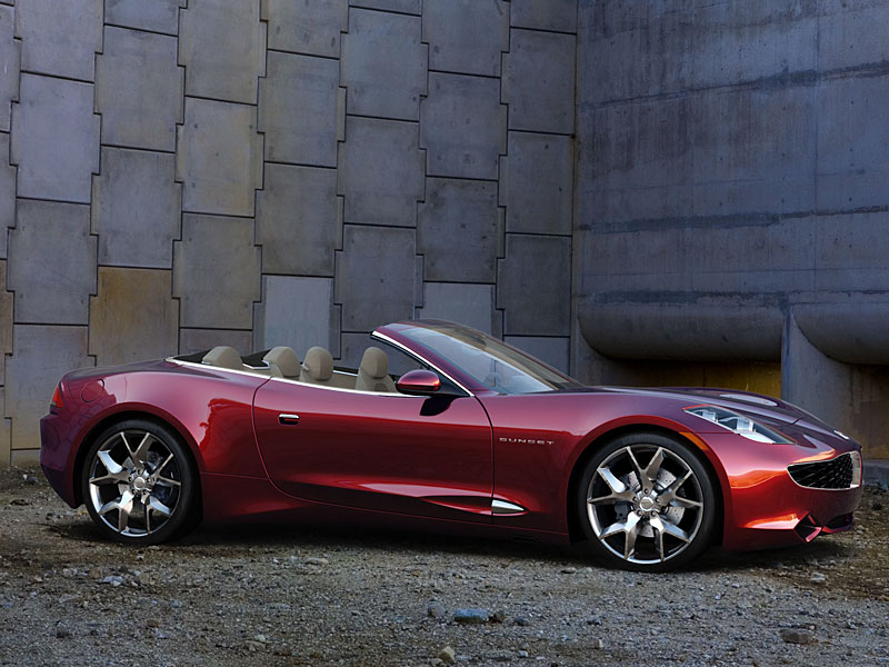 FISKER KARMA Sunset plug-in hybrid