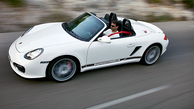 Porsche-boxster-spyder-2011.jpg. On December 2, 2009, Porsche revealed its